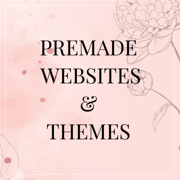 Premade Websites & Themes