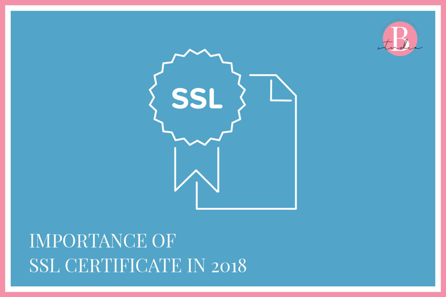 Importance of SSL Certificate img